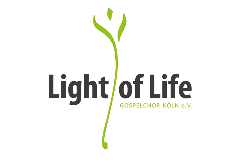Logo des Gospelchors Light of Life, Köln