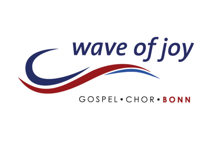 Logo des Gospelchors Wave of Joy, Bonn