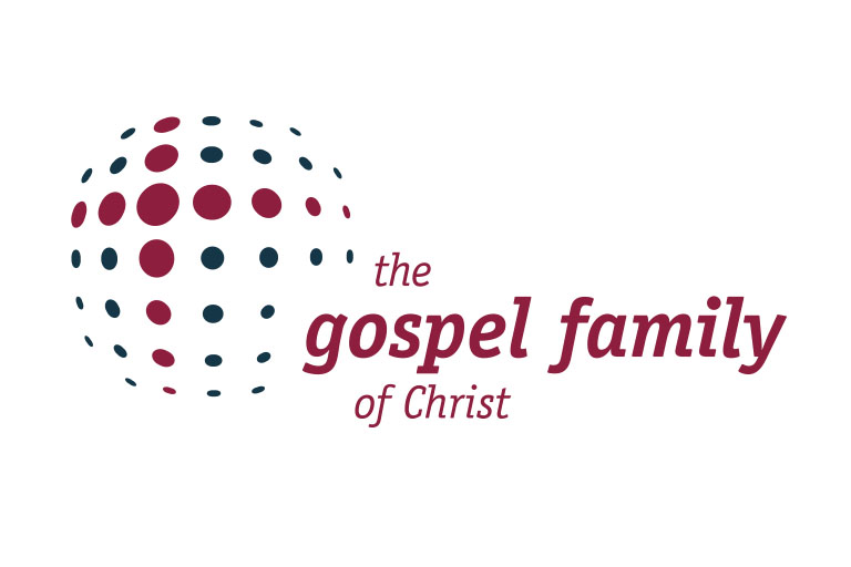 Logo des Gospelchors gospel family of Christ