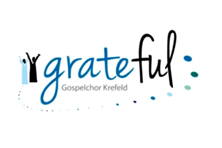 Logo des Gospelchors Grateful, Krefeld