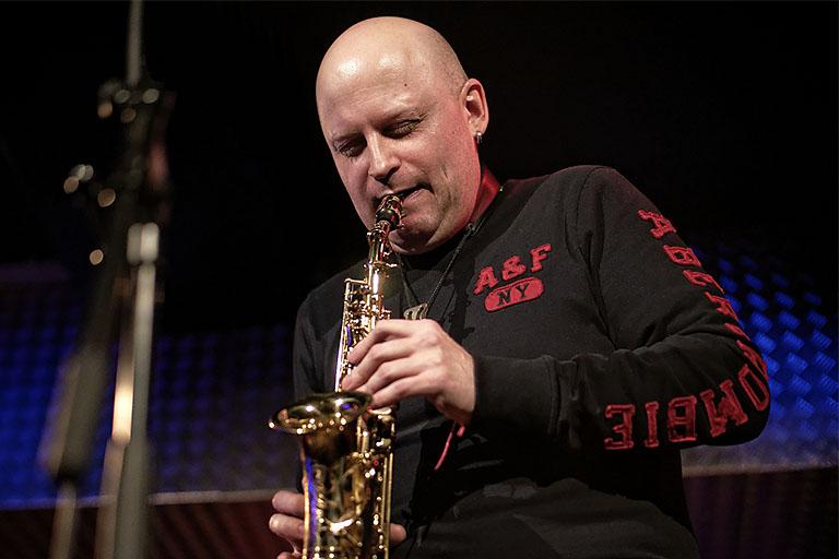 Dimitrij Markitantov, Saxofon