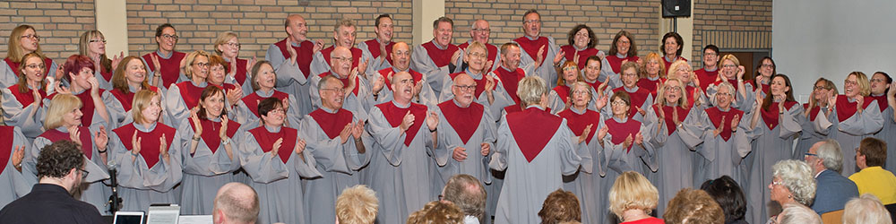 """Jubiläumskonzert Gospelchor """"Spirit of Joy"""", Evangelische Kirche Osterath"""