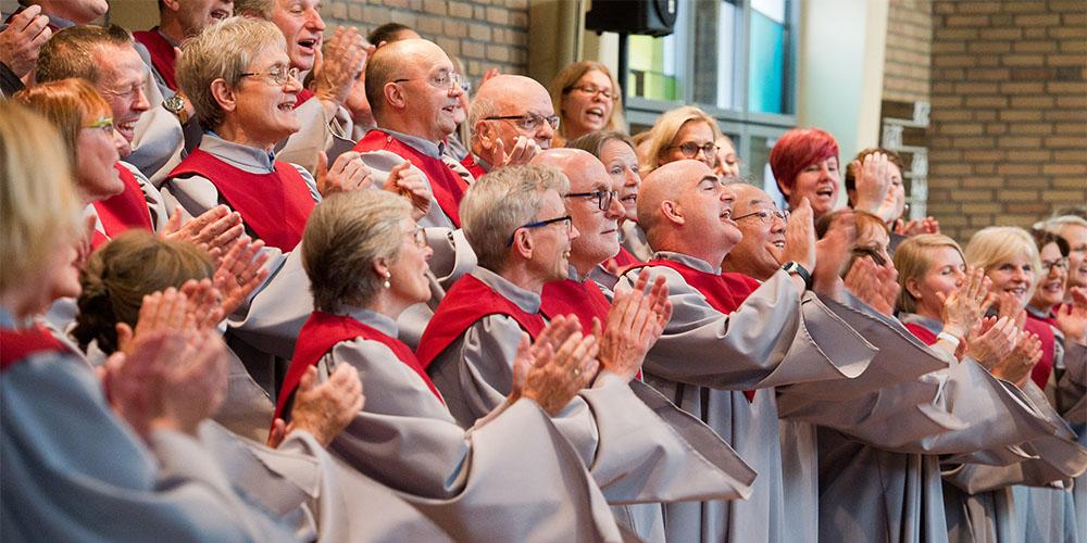 """Gospelchor """"Spirit of Joy"""", Jubiläumskonzert am 6. 10. 2018 in der Evangelischen Kirche Osterath"""